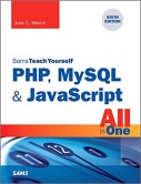 cover of Sams Teach Yourself PHP, MySQL, and JavaScript All-in-One